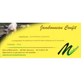 Jambonneau confit 350g