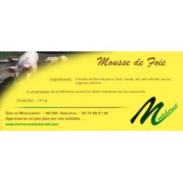 Mousse de foie 350g